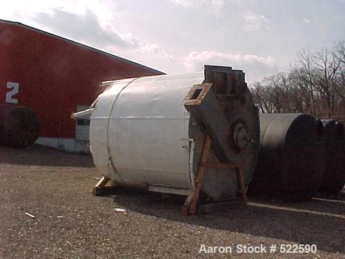 "USED: APV Anhydro spray dryer, stainless steel. Dryer measures 10'0"" diameter x 10'6"" straight side. Dryer includes a rotary..."