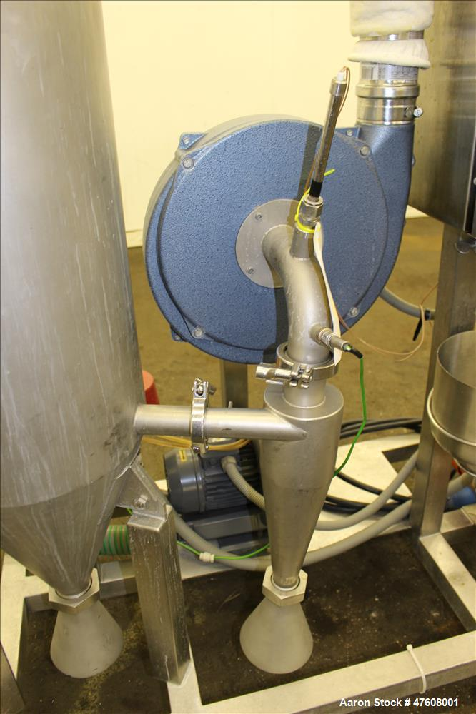 Used- Armfield Tall Form Spray Dryer, Model FT80-G, 316 Stainless Steel.