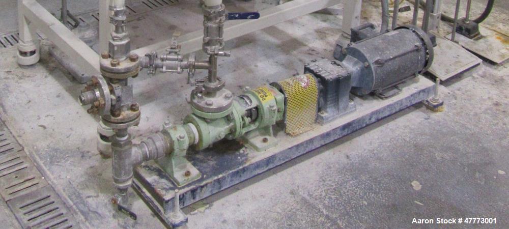 Used- GEA Niro A/S Production Minor FSD Fluidized Spray Dryer.