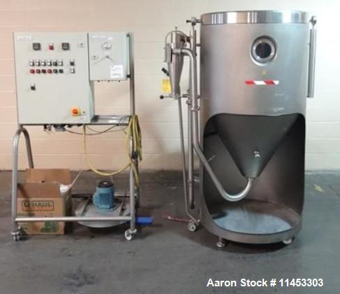 Used- GEA Niro Mobile Minor Spray Dryer. One (1) used GEA Niro Mobile Minor spray dryer, size 0.8, stainless steel construct...