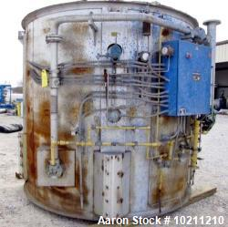 Used- Stelter and Brinck Spray Dryer / Roaster. Direct fired air heater. Maximum temperature of 2,400 degrees F. 7 gauge CRs...