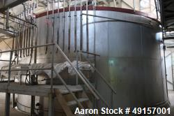 Used- GEA Anhydro Model HBD80 Single Stage Spray Dryer, Nozzle Type,