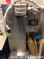 Used- Triowin Lab Spray Dryer, Model SD-1500. Capacity 1550 mL per hour. 3.5 KW, 110V-120VAC-60 Hz. Dimensions 780 x 620 x 1...