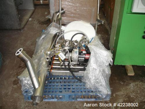 "Used- Niro Spray Dryer, Stainless Steel. 90"" diameter x 42"" straight side, 60 degree cone bottom. Niro model F10 1 DP.S.N ce..."
