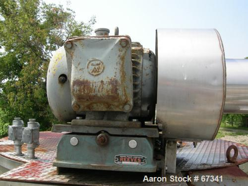 """USED: Niro utility spray dryer, stainless steel, polished andinsulated chamber, 48"""" diameter x 30"""" straight side x 41"""" cone...."""