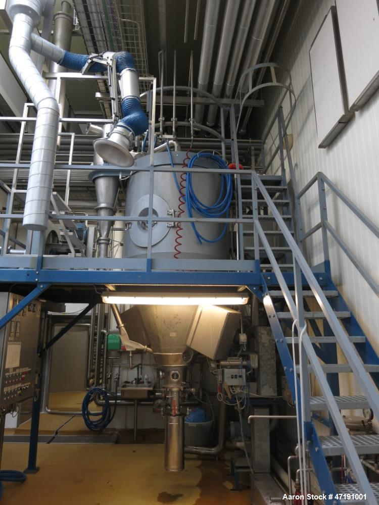 Used- Niro FSD 4.0 Spray Dryer Type Pilot. The system works best with a high dry matter content of 50% or more. The equipmen...