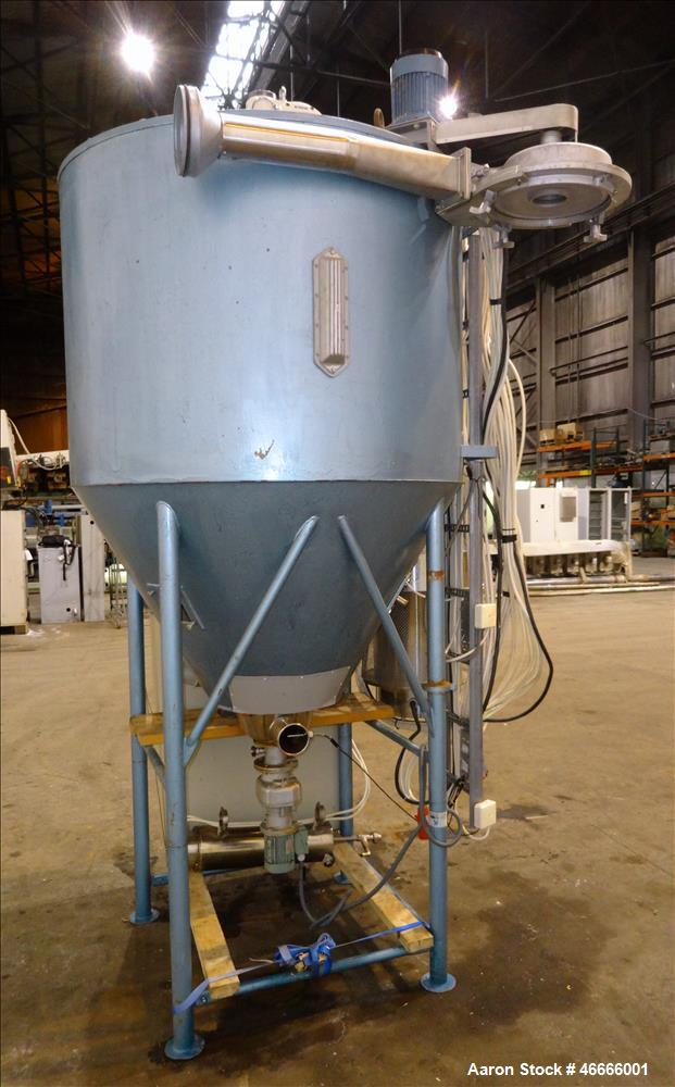 Used- Niro Electrically Heated Spray Dryer, Model F15, 316 Stainless Steel