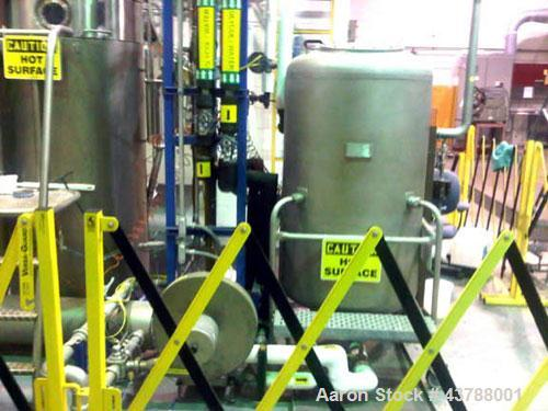 Used-NIRO Model MM-XP MOBILE MINOR SPRAY DRYER, Catalyst Spray Dryer, Solvent and Recovery System.  Designed to dry Aqueous ...