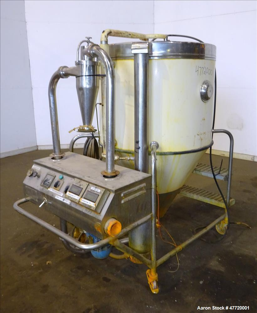 Used- Niro Mobile Minor Spray Dryer, 304 Stainless Steel.