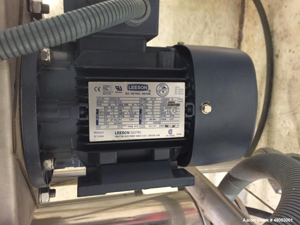 """Used- GEA Niro Spray Dryer, Model Mobile Minor, with rotary atomizer, air driven. Stainless steel. Equipped with an 18""""x 18""""..."""