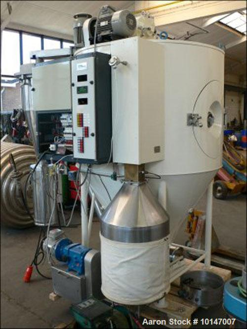 Used-Niro spray dryer, type Production Minor, No. 8719, in stainless steel (316), polished inside, drying tower diameter 120...