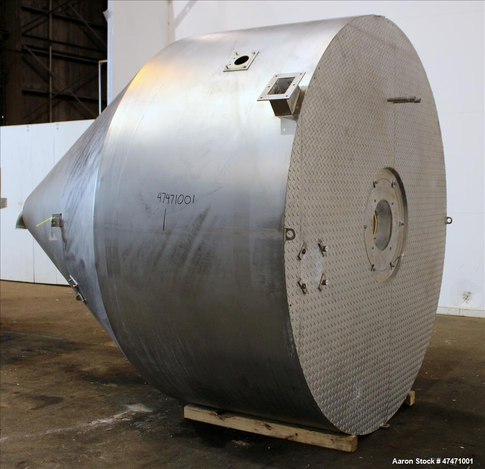 Used- GEA Niro Spray Dryer, Model SD6.3R, 316 Stainless steel interior, 304 stai
