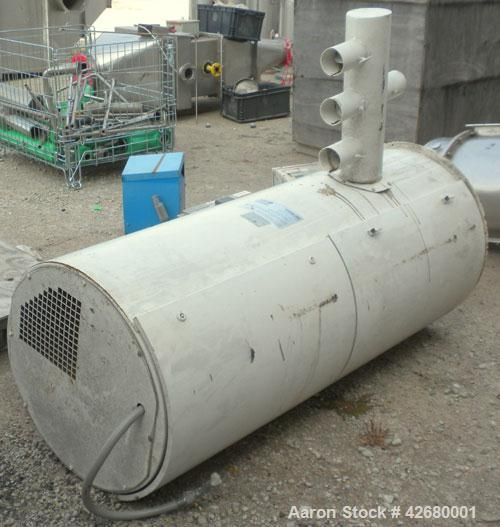 "Used- GEA Niro Tall Form Tower Spray Dryer, Model TFD25, 304 Stainless Steel. 58-1/2"" Diameter x 155"" straight side, coned b..."