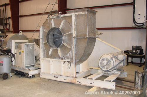 Used-Niro spray tower/spray dryer. 23' diameter x 41' tall, 304 stainless steel construction. Main chamber is double walled ...
