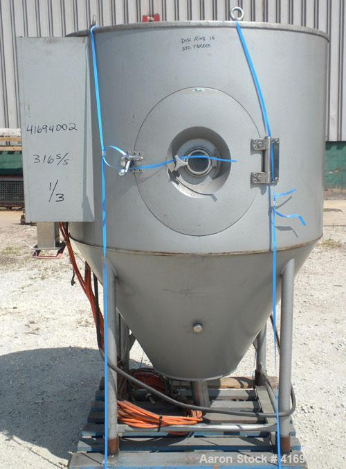 Used- Niro Versitile Utility Spray Dryer, model V, 316 stainless steel. Up to 10 to 15 kilograms an hour (22-33#) evaporatio...