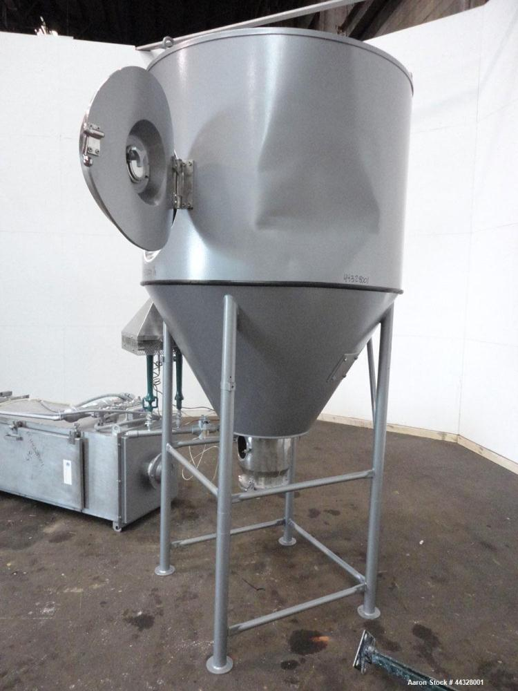 Used- Niro Versatile Utility Spray Dryer, 316 Stainless Steel. Up to 10 to 15 kilograms an hour (22 to 33 pounds) evaporatio...
