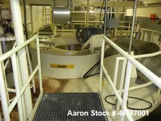 Used- Niro Spray Dryer. Approximately 600 Kg/ hour water evaporation rate. 50Hz, 400V, 3 Phase. Dryer chamber measures: 5200...