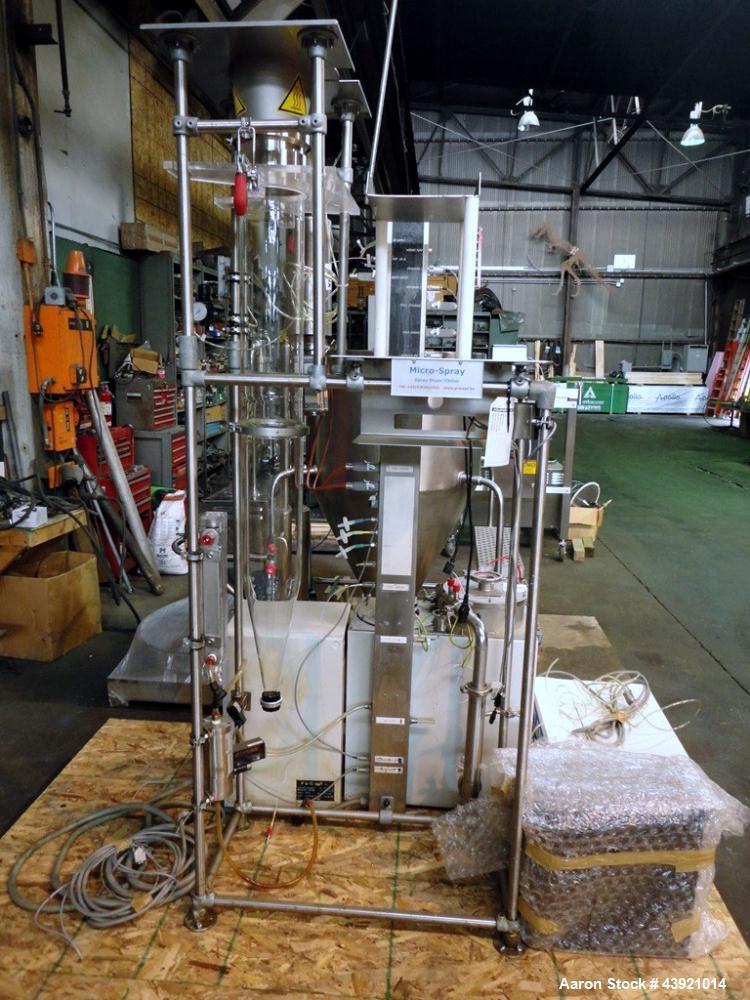 Used- Pro-C-ept Spray Dryer, Model MICROSPRAY