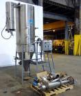 """Used- Bowen Engineering #1 Tower Spray Dryer, 304 Stainless Steel.  30"""" Diameter x 72"""