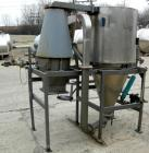 USED: Bowen Engineering conical type laboratory spray dryer, 316 stainless steel. 30