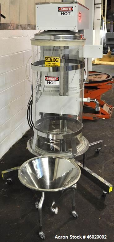 Used- Yamato Spray Dryer; Model DL-41. Water evaporation rate - max. 31 / hour. Spray system - two liquid nozzle system. Ori...