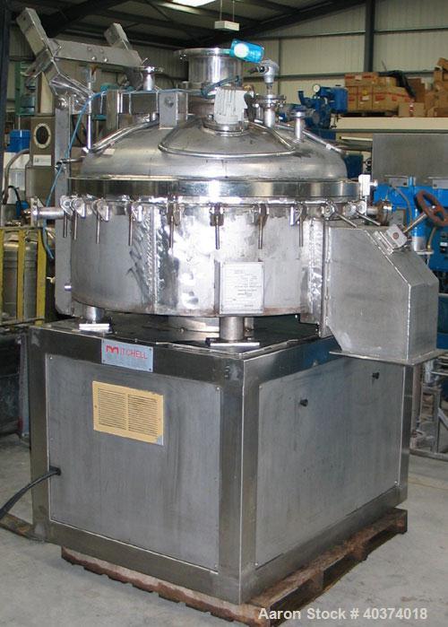 Used- APV/Mitchell Dryers Vacuum Pan Dryer