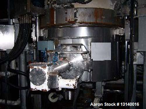 Used-3V Inc Cogeim Agitated Jacketed Vacuum Hastelloy Pan Dryer