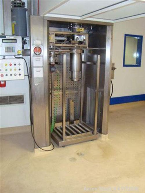 Used- Comber TurboDry Agitated Vacuum Pan Dryer, Model NTD 25/33, Hastelloy. Approximately 3300 litre capacity. Internal rat...