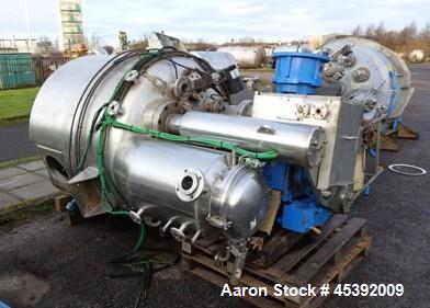 Used- Guedu Hastelloy Vacuum Pan Dryer, Model GRD1600T