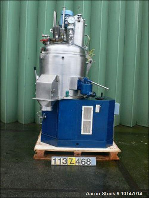 Used- Stainless Steel Guedu Universal Mixer/Dryer, Type 90 NO/PO