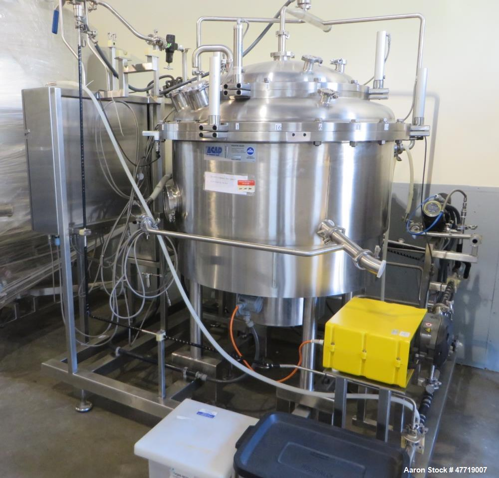 Used- Sweco PharmASep Vibro-Energy Filter Dryer, Model PH46Y30, 316L Stainless Steel. Sanitary design rated 0-2 bar (0-30 ps...