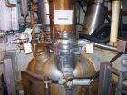 USED: 3V Inc Cogeim 1040X850MM agitated jacketed vacuum hastelloy pan dryer. Rated 29/FV @ 350 deg F internal. Jacket 116 ps...
