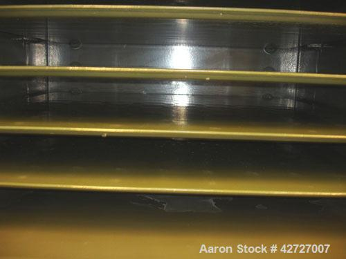 Used- Steri Tech Bucher Vacuum Shelf Dryer, Type VTS E13M2