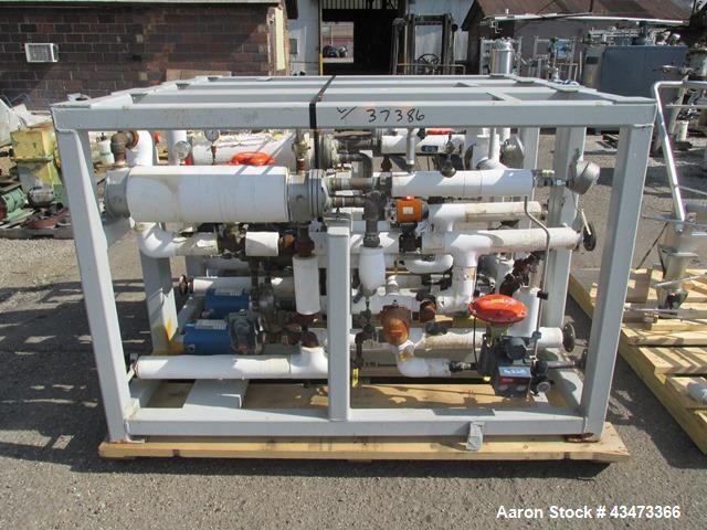 Used- Bucher Vacuum Shelf Dryer, Model VTS8MT2. 8 Square meter (86 square feet) shelf area, Hastelloy C276 construction. Int...