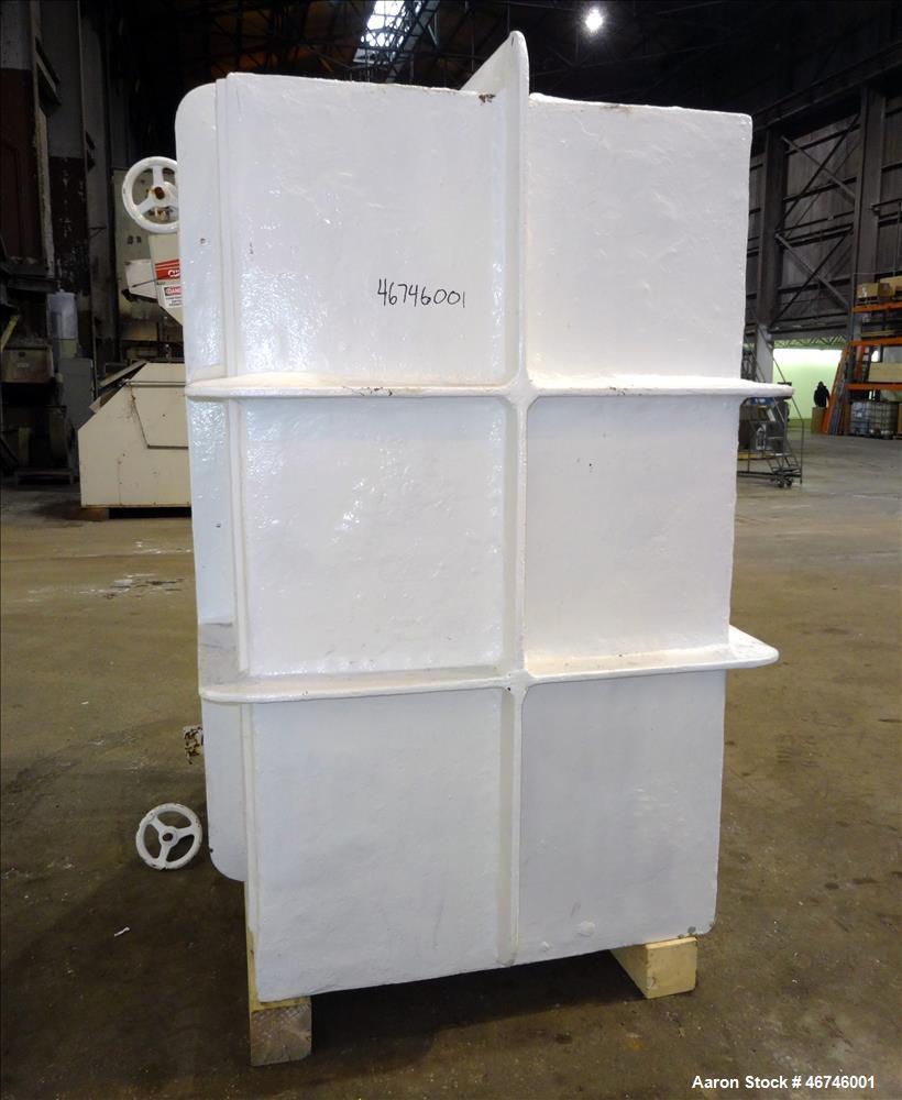 Used- Buflovak Vacuum Shelf Dryer, Approximately 196 Square Feet.