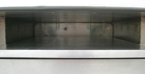 "USED: Hull Corp vacuum shelf dryer, approximate 20 square feet. 316 stainless steel chamber 30"" wide x 29"" high x 41"" deep, ..."
