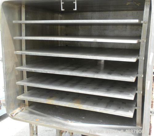 Used- Hull Vacuum Shelf Dryer, Model VDS