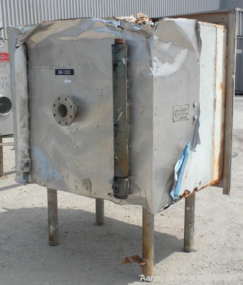 Used- Hull Vacuum Shelf Dryer, Model VDS