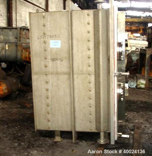 "Used- United McGill Vacuum Shelf Dryer. Model 11F.  Approximately 224.40 square feet. Chamber 60"" wide x 69"" tall x 47"" deep..."