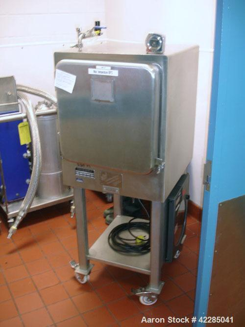 """Used- Stainless Steel Industries Vacuum Shelf Dryer, 7 square feet, model NO2911, stainless steel.Designed for (3) 18"""" x 21..."""