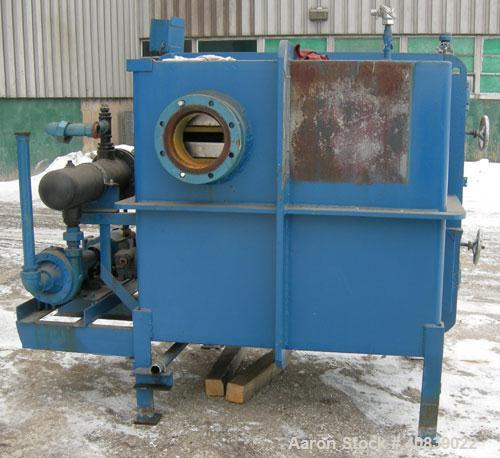"""Used- Stokes Vacuum Shelf Dryer, Model 138-H, Approximately 97.6 Square Feet, Carbon Steel.(8) 44"""" Wide x 40"""" deep x 1"""" thic..."""