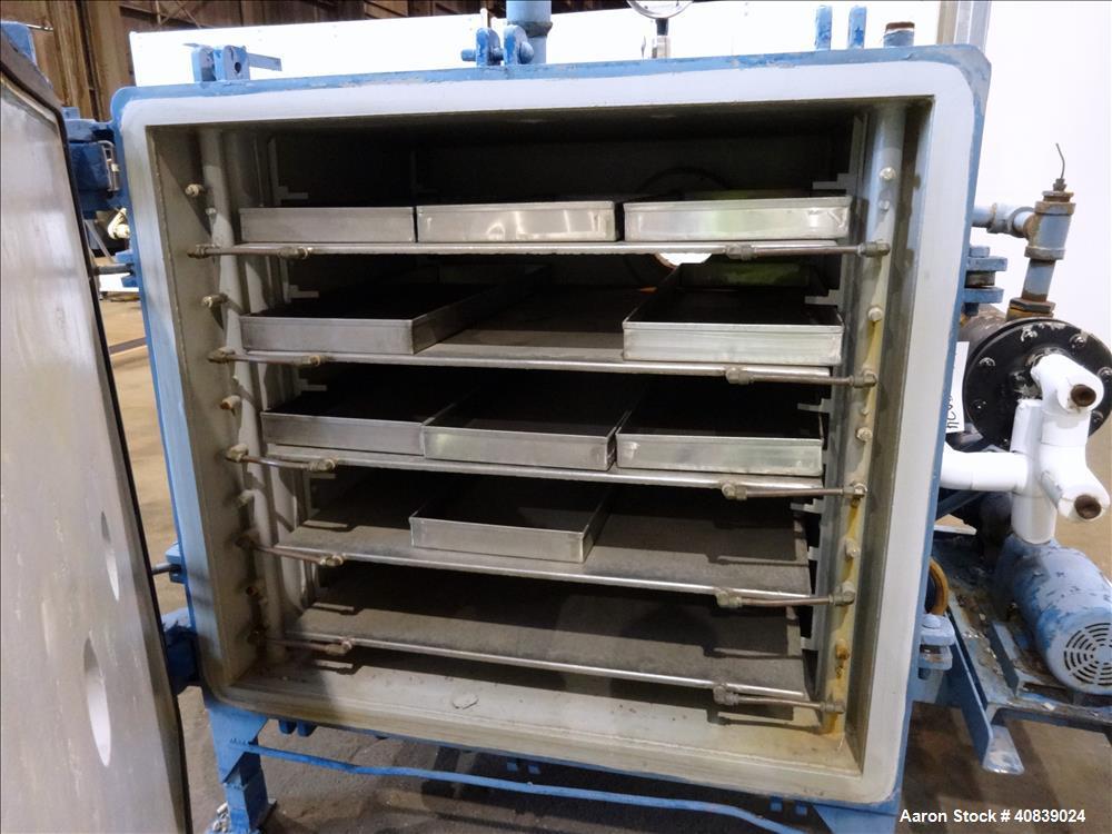 Used- Stokes Vacuum Shelf Dryer, Model 138-H