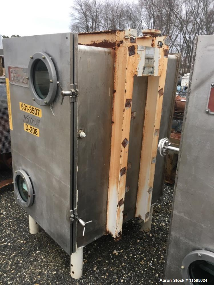 Used- Stokes Model 338-F15, Stainless Steel Vacuum Shelf Dryer.