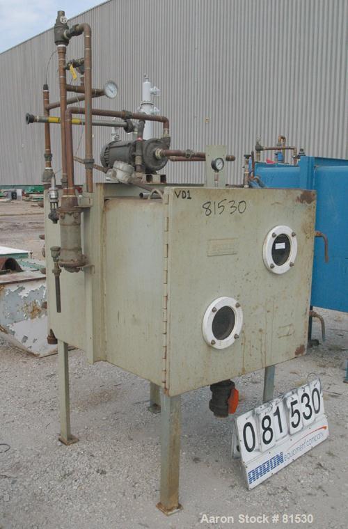 Used- Stokes Vacuum Shelf Dryer, Model 338D-3