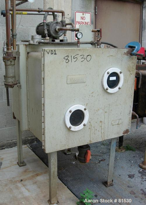 Used- Stokes Vacuum Shelf Dryer, Model 338D-3