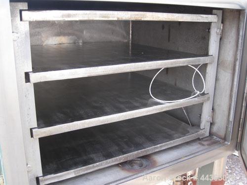 Used- Stainless Steel Stokes Vacuum Shelf Dryer, Model M-900-338