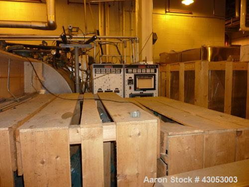 "Used-Stokes Lyopholizer, 260 Square Feet,  Stainless Steel. Complete with 60"" wide x 48"" deep shelves, Stokes vacuum system,..."