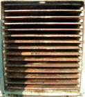 USED: Devine vacuum shelf dryer, 451.70 square feet, carbon steel. (15) 58