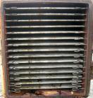 USED: Devine vacuum shelf dryer, 451.70 square feet, 316 stainless steel. (15) 58