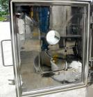 USED: Italvacuum Vacuum Shelf Dryer, model EO2, approximately 9 square feet, 316 stainless steel. (4) 19-3/8